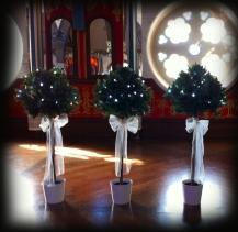 Bay trees - Wedding Oran Mor Glasgow