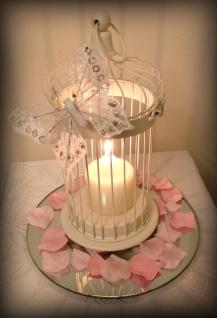 Butterfly Bird Cage Centrepiece - Wedding Glasgow