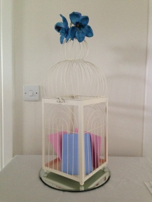 Birdcage post box