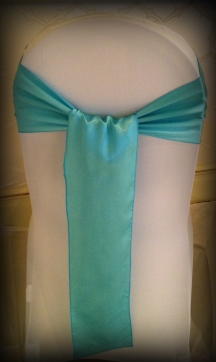 Blue satin bow, Chair covers South Lanarkshhire, Lily Special Events