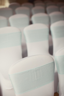 Chair covers by Lily Special Events - Photographed by Craig & Eva Sanders
