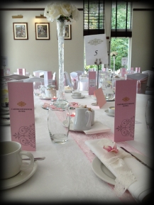 Vintage afternoon tea charity event, decor by Lily Special Events