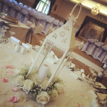 Large vintage lantern, wedding centrepiece or line your aisle, Lily Special Events, venue decor South Lanarkshire, Glasgow