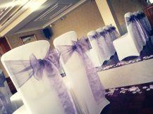 Loch Green - Lavender bows