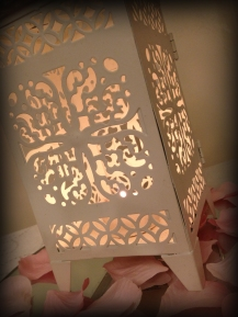 Moroccan Lantern centrepiece, Glasgow - Lily Special Events