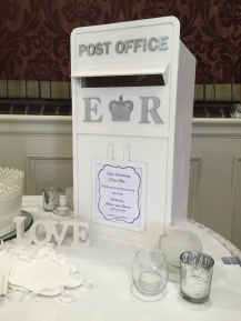 Post box by Lily Special Events1