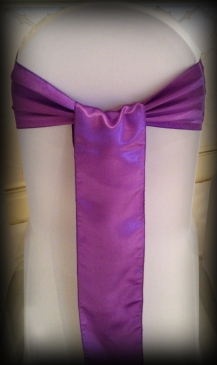 Purple satin bow, Chair covers South Lanarkshhire, Lily Special Events