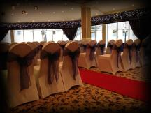 Winter wedding, Lanarkshire wedding decor by Lily Special Events, Glasgow