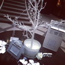 Hire wishing tree Glasgow wedding, by Lily Special Events