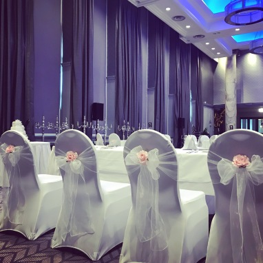 Lanarkshires local wedding venue decor company lily special grand central hotel glasgow lily special events chair covers centrepieces wedding venue junglespirit Images