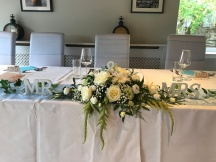 Old Churches House, Dunblane, Lily Special Events, chair covers, lantern centrepieces