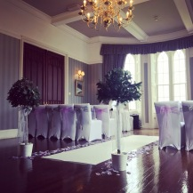 Ross Priory, Loch Lomond, scottish wedding venue ceremony dressed by Lily Special Events