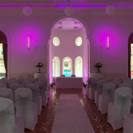 Campbeltown Town Hall, dressed by Lily Special Events1