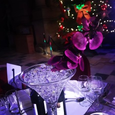 Kelvingrove Art Gallery and Museum dressed by Lily Special Events - centrepieces, martini vase, orchid