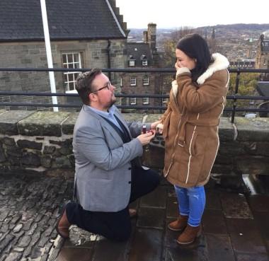 Edinburgh engagement