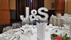 Led initials, Lily Special Events