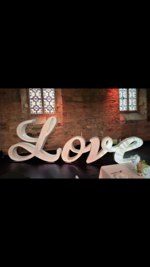 Italic love sign, Lily Special Events