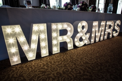 MR&MRS 50cm Led, Lily Special Events